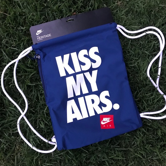 ef399fabf50 Nike Bags   Nwt Kiss My Airs Bag   Poshmark
